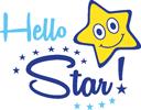 Hello Star! Logo